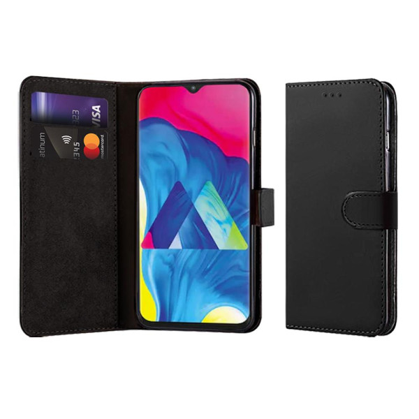 Compatible Book Case With Wallet Slot For Samsung Galaxy M10