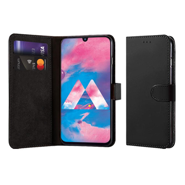 Compatible Book Case With Wallet Slot For Samsung Galaxy M30