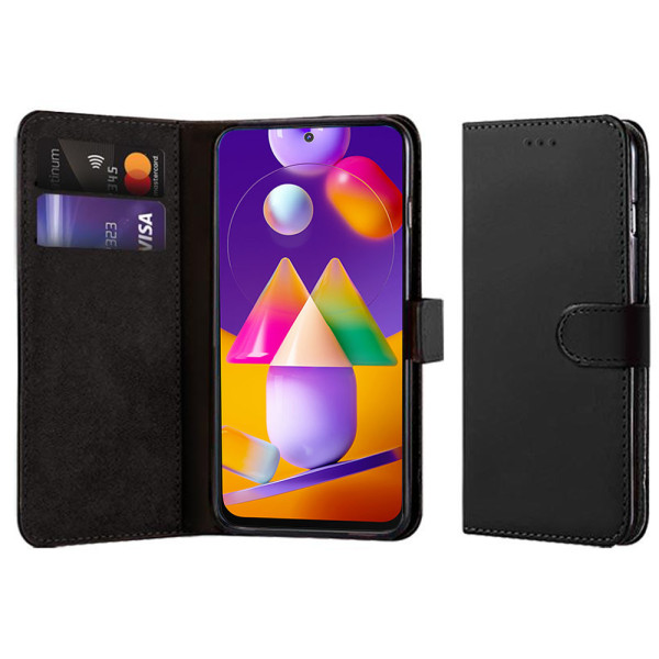 Compatible Book Case With Wallet Slot For Samsung Galaxy M31S