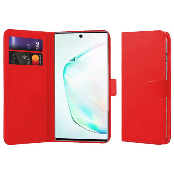 Compatible Book Case With Wallet Slot For Samsung Galaxy Note 10 Plus