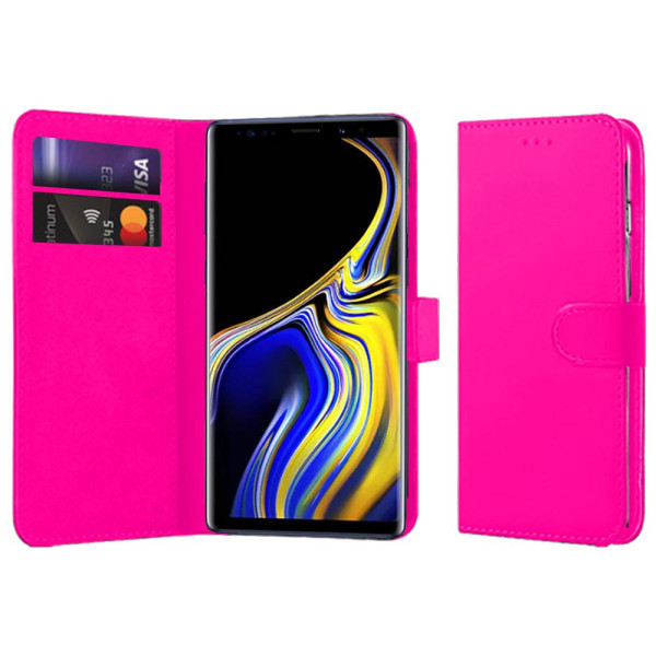 Compatible Book Case With Wallet Slot For Samsung Galaxy Note 9