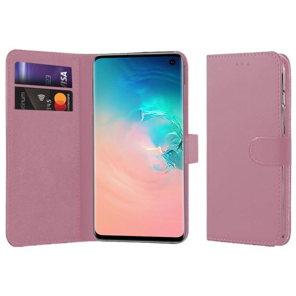 Compatible Book Case With Wallet Slot For Samsung Galaxy S10 SM-G973F
