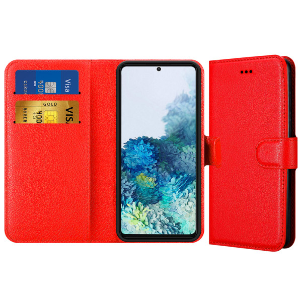 Compatible Book Case With Wallet Slot For Samsung Galaxy S20 Plus SM-G985