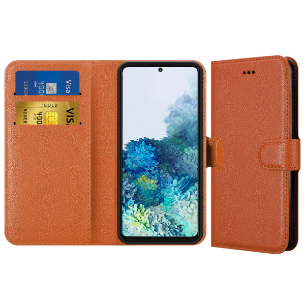 Compatible Book Case With Wallet Slot For Samsung Galaxy S20 SM-G980F