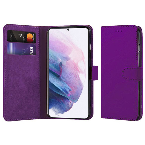 Compatible Book Case With Wallet Slot For Samsung Galaxy S21 Plus