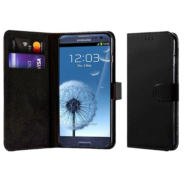 Compatible Book Case With Wallet Slot For Samsung Galaxy S3 I9300