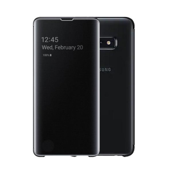 Compatible Clear View Stand Case for Samsung Galaxy S10E