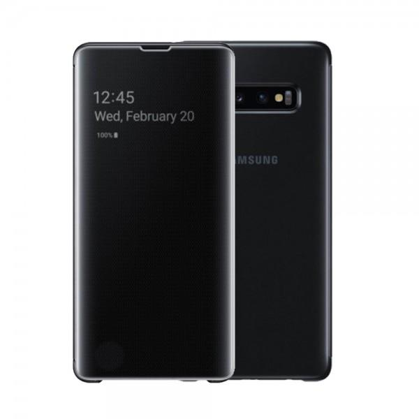 Compatible Clear View Stand Case for Samsung Galaxy S9 Plus