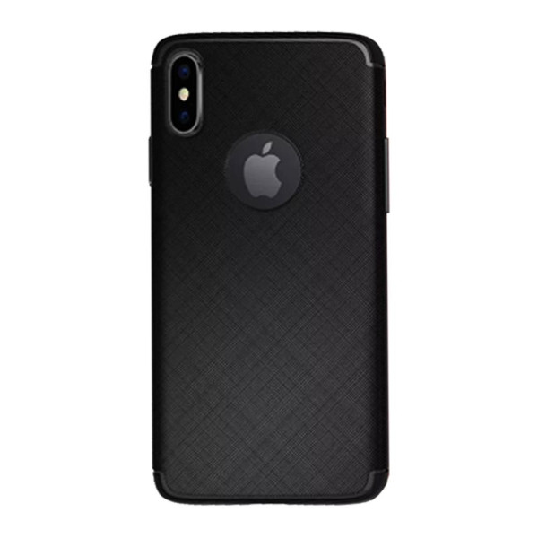 Compatible Cross Pattern Case For iPhone XS