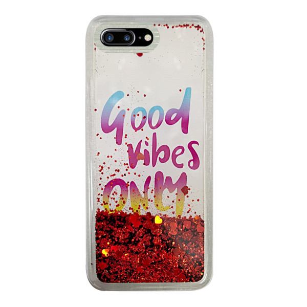 Compatible Design Glitter Gel Case For iPhone 7