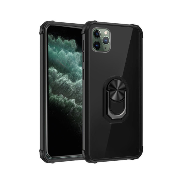 Compatible Fashion Case With Ring Holder For iPhone 11 Pro Max