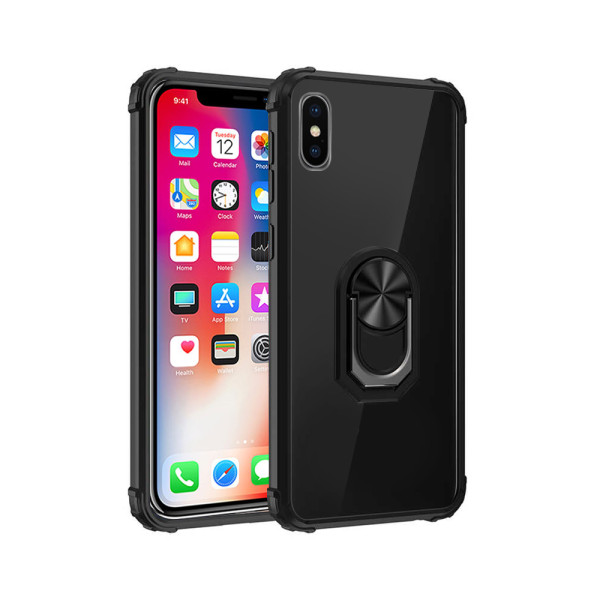 Compatible Fashion Case With Ring Holder For iPhone XS Max