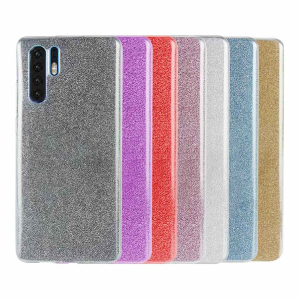 Compatible Glitter Gel Case for Huawei P30 Pro