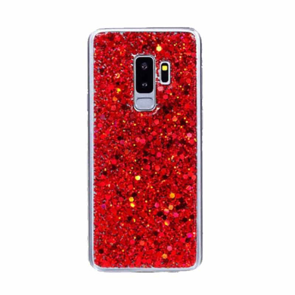 Compatible Glitter Gel Case For Samsung Galaxy S9