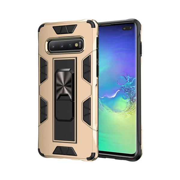 Compatible Kick Stand Case For Samsung Galaxy S10 Plus