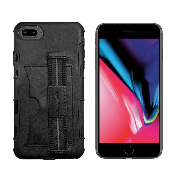 Compatible Leather Hand Strap Case for iPhone 8 Plus