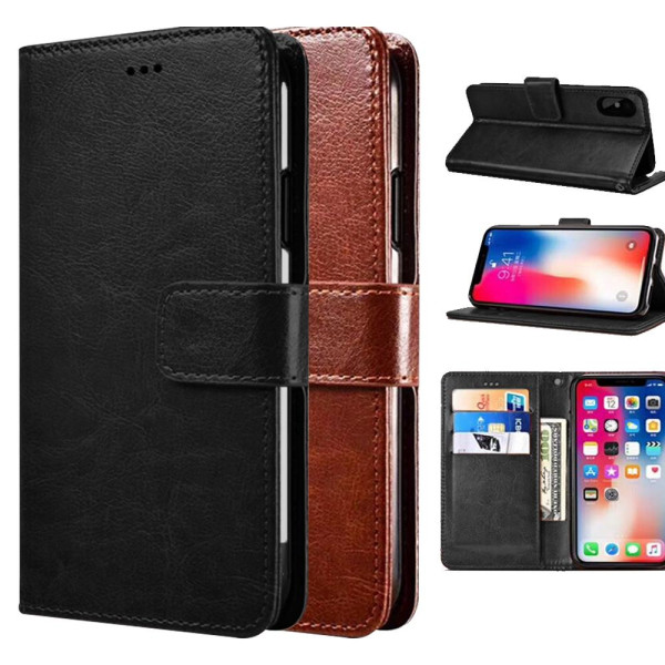 Compatible Paint Flip Book Pouch For iPhone 8