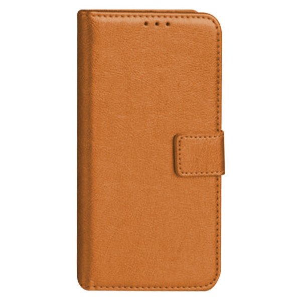 Compatible Premium Leather Flip Book Pouch For Samsung Galaxy A20 SM-A205