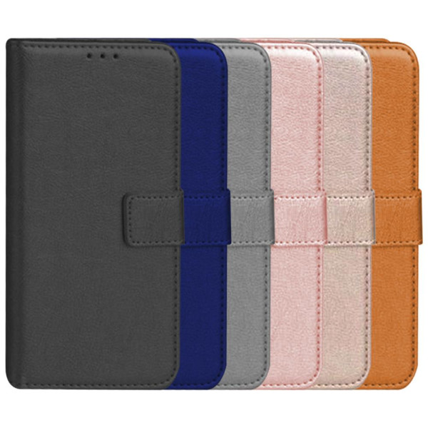 Compatible Premium Leather Flip Book Pouch For Samsung Galaxy A41