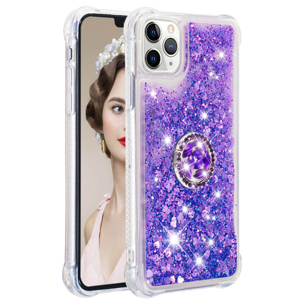 Compatible Replacement Glitter Ring Case for iPhone 11 Pro