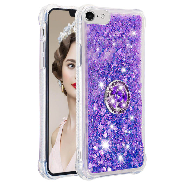 Compatible Replacement Glitter Ring Case for iPhone 6
