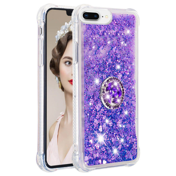Compatible Replacement Glitter Ring Case for iPhone 7/8 Plus