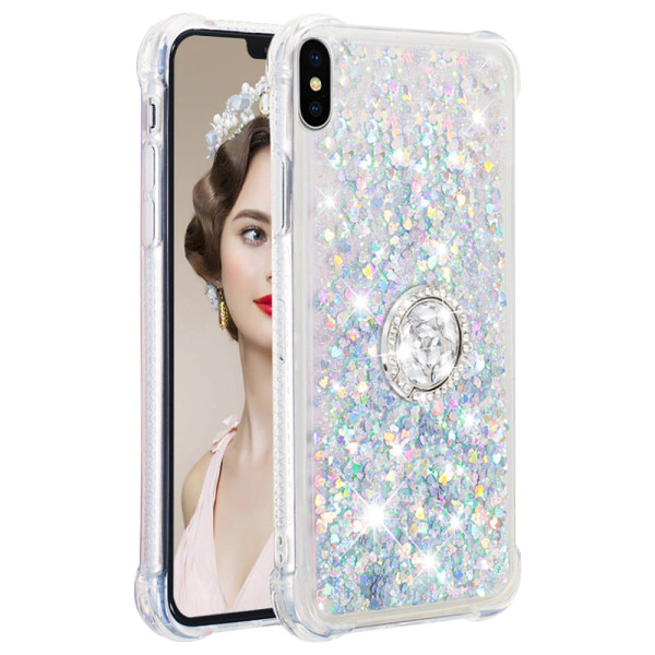 Compatible Replacement Glitter Ring Case for iPhone X