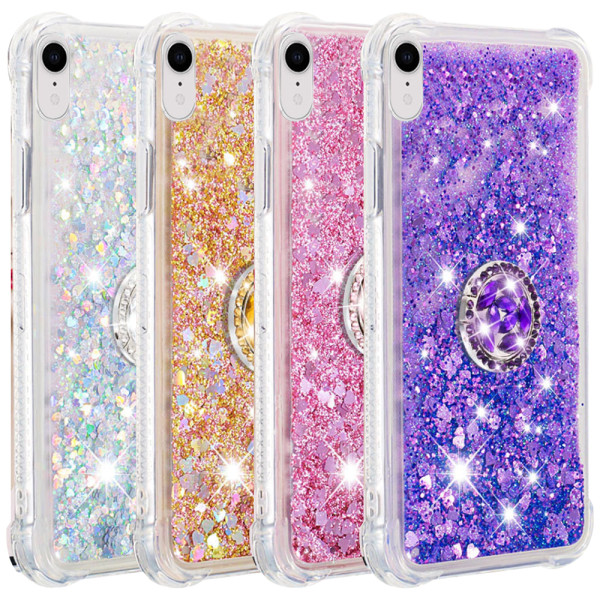 Compatible Replacement Glitter Ring Case for iPhone XR
