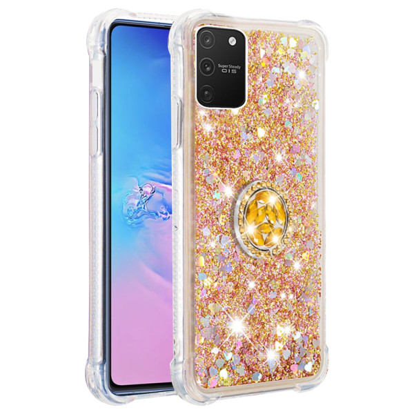 Compatible Replacement Glitter Ring Case for Samsung Galaxy S10 Lite 2020