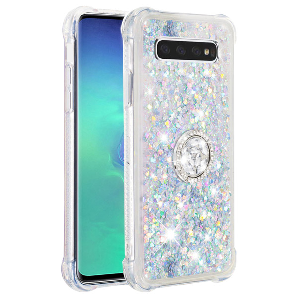 Compatible Replacement Glitter Ring Case for Samsung Galaxy S10 Plus