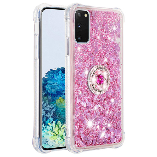 Compatible Replacement Glitter Ring Case for Samsung Galaxy S20