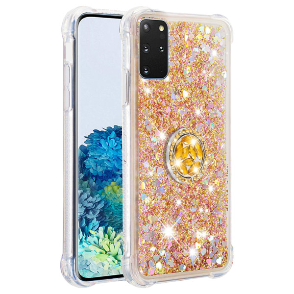 Compatible Replacement Glitter Ring Case for Samsung Galaxy S20 Plus