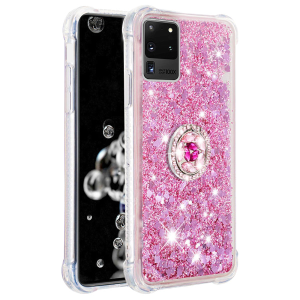 Compatible Replacement Glitter Ring Case for Samsung Galaxy S20 Ultra