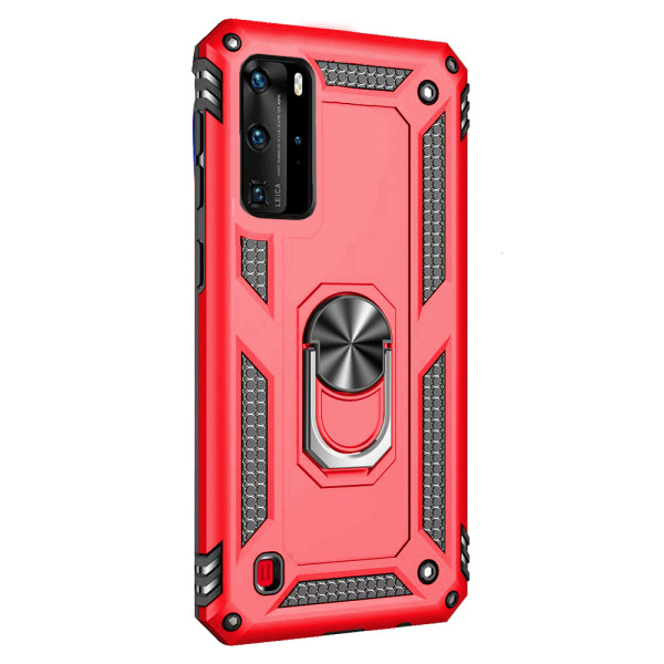 Compatible Ring Armor Case for Huawei P40 Pro