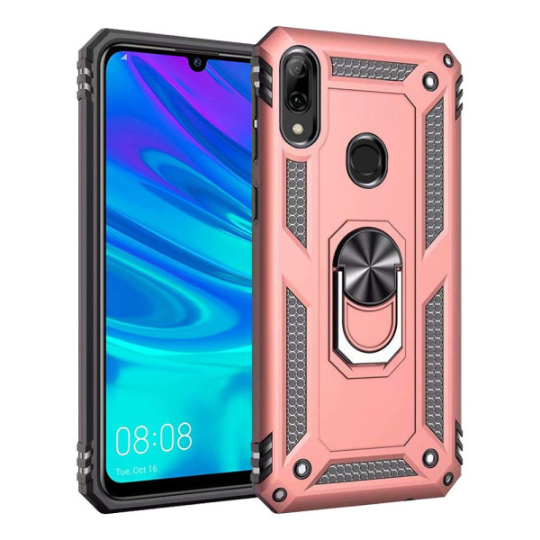 Compatible Ring Armor Case For Huawei P Smart 2019