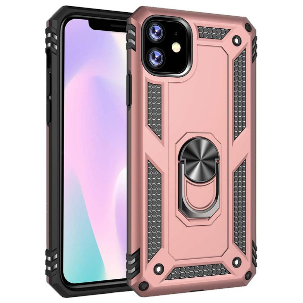 Compatible Ring Armor Case For iPhone 11