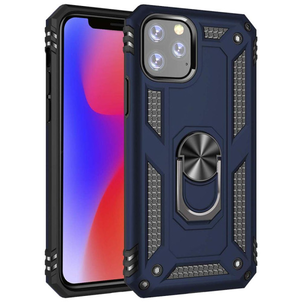 Compatible Ring Armor Case For iPhone 11 Pro Max