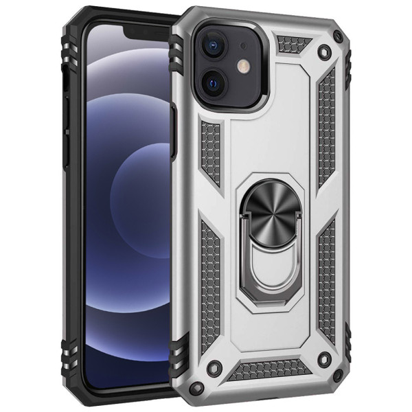 Compatible Ring Armor Case For iPhone 12 Mini 5.4