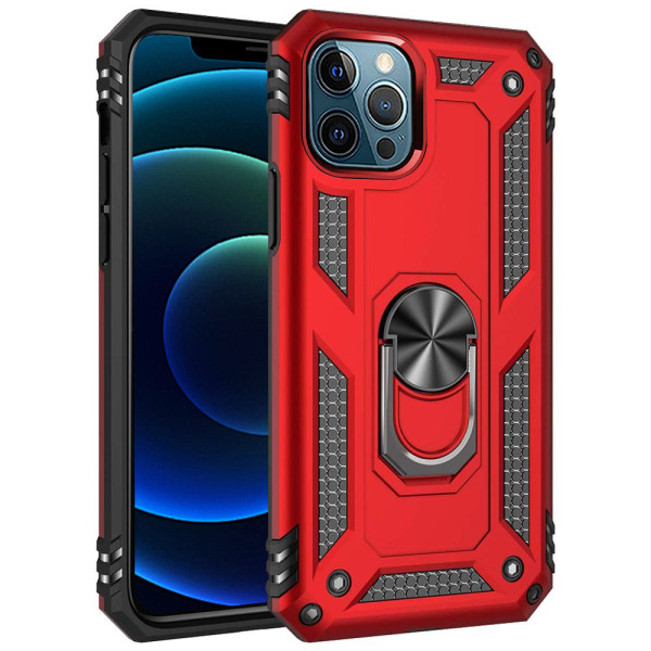 Compatible Ring Armor Case For iPhone 12 Pro Max 6.7