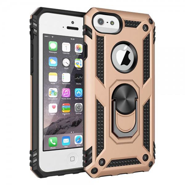 Compatible Ring Armor Case For iPhone 5
