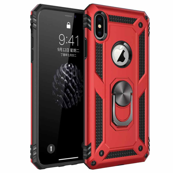 Compatible Ring Armor Case For iPhone X