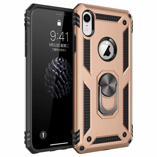 Compatible Ring Armor Case For iPhone XR