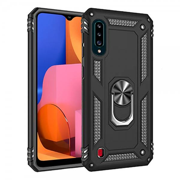 Compatible Ring Armor Case for Samsung Galaxy A20S SM-A207