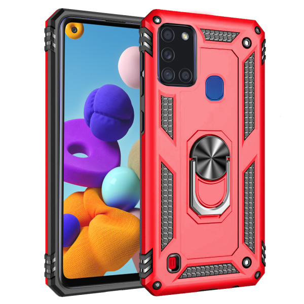 Compatible Ring Armor Case for Samsung Galaxy A21S SM-A217f