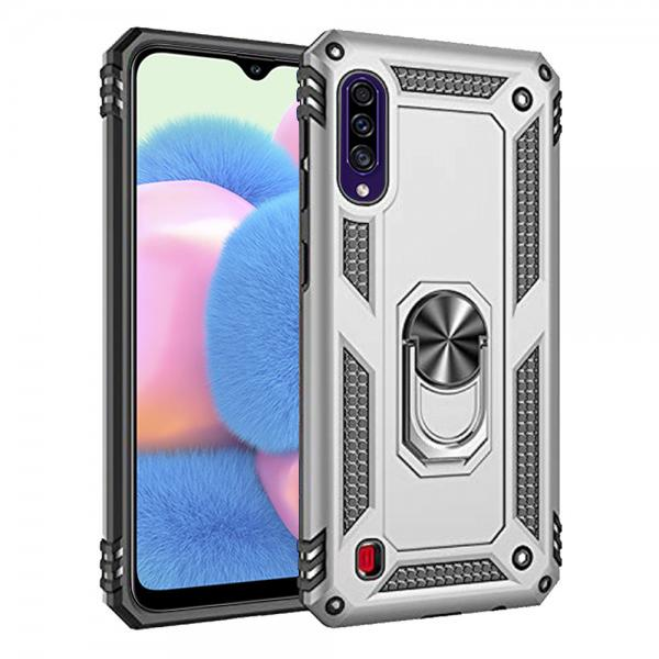 Compatible Ring Armor Case For Samsung Galaxy A30S