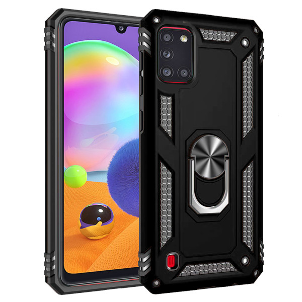 Compatible Ring Armor Case for Samsung Galaxy A31 SM-A315f