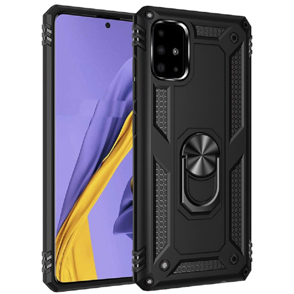 Compatible Ring Armor Case for Samsung Galaxy A51 SM-515f
