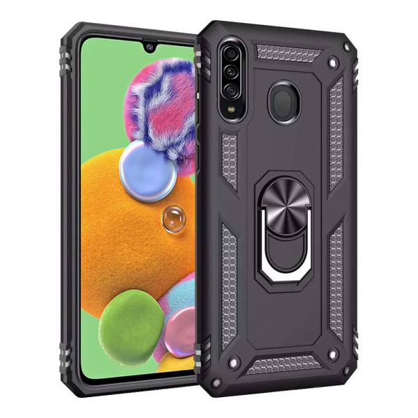 Compatible Ring Armor Case for Samsung Galaxy A90