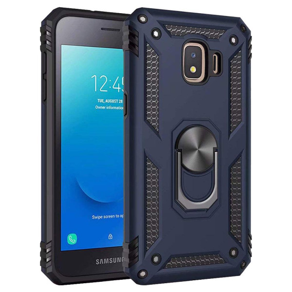 Compatible Ring Armor Case For Samsung Galaxy J2 Core