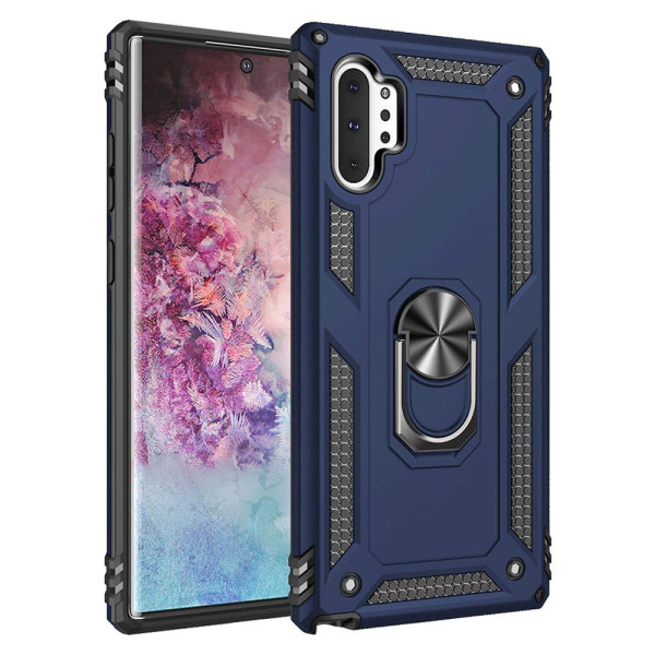 Compatible Ring Armor Case For Samsung Galaxy Note 10 Plus